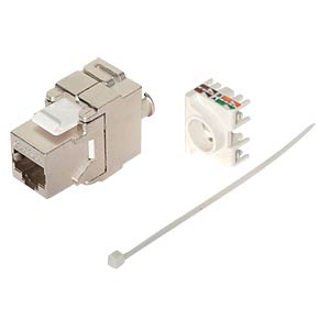 Keystone Cat.6 A zertifiziert, 500 MHz SHIVERPEAKS BS75004