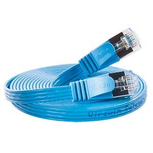 Cat.6 SLIM-Patchkabel, STP(PIMF), 10 m, blau SLIM PKW-STP-SLIM-KAT6 10.0 BL