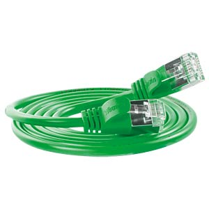 Cat.6 SLIM-Light-Kabel, F/FTP, 0,15 m, grün SLIM PKW-LIGHT-STP-K6 0.15 GN