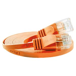 Cat.6 SLIM-Patchkabel, U/UTP, 0,15 m, orange SLIM PKW-SLIM-KAT6 0.15 OR