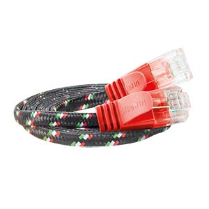 Cat.6 SLIM-Tough-Kabel, U/UTP, 5,0 m, rot SLIM PKW-TOUGH-K6 5.0 RT
