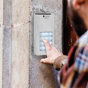 Audio-Türsprechanlage für 4 Wohneinheiten SMARTWARES DIC-21142