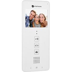 Video-Türsprechanlage für 4 Wohneinheiten SMARTWARES DIC-22142