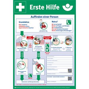 SNG 8001034 - Anleitung Erste-Hilfe Plakatform Kunststoff