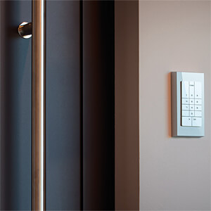 Door Phone & Code GLAS, silber SOREX DO401000 SILBER