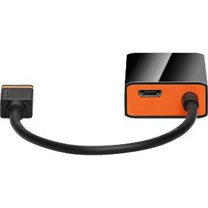 SlimPort Adapter, SlimPort auf VGA Buchse GOOBAY 61751