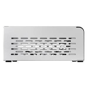 SilverStone Mini-STX VT01S, silber SILVERSTONE SST-VT01S