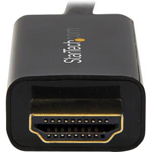 DisplayPort Adapter, DP Stecker auf HDMI Stecker, 2 m STARTECH.COM DP2HDMM2MB