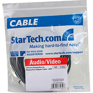 Kabel Mini DisplayPort auf DP 4k 3 m STARTECH.COM MDP2DPMM10