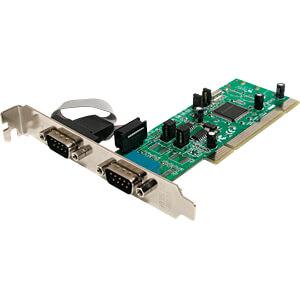 Konverter PCI > 2x Seriell STARTECH.COM PCI2S4851050