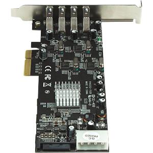 4 Port PCIe Karte USB 3.0 PCIe mit UASP STARTECH.COM PEXUSB3S44V
