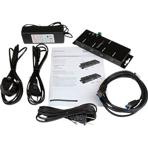 USB 3.0 industrieller 4 Port Hub, montierbar STARTECH.COM ST4300USBM
