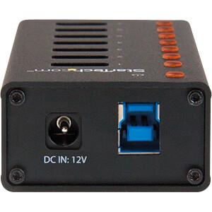 USB 3.0 7 Port Hub, Metallgehäuse, montierbar STARTECH.COM ST7300U3M
