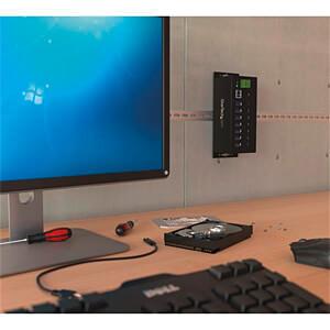 Industrieller 7 Port USB 3.0 Hub, ESD-Schutz STARTECH.COM ST7300USBME