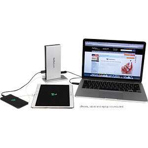 Dockingstation/Port Replicator, USB 3.0, Laptop, 2x DVI STARTECH.COM USB3SDOCKDD