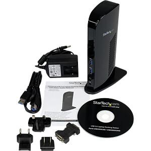 Dockingstation/Port Replicator, USB 3.0, Laptop STARTECH.COM USB3SDOCKHD