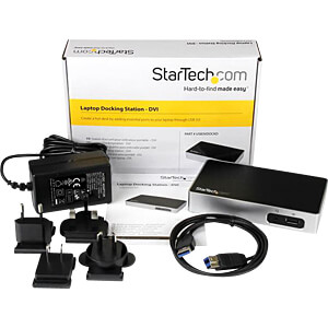 Dockingstation/Port Replicator, USB 3.0, Laptop STARTECH.COM USB3VDOCKD