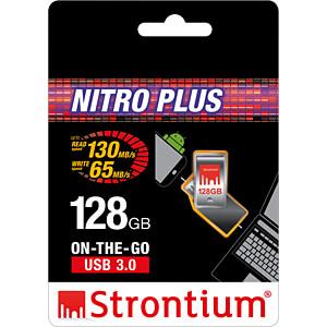 USB-stick, USB 3.0, 128 GB, NITRO PLUS OTG STRONTIUM SR128GSLOTG1Z