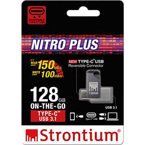 USB Stick, USB 3.1, 128 GB, Nitro Plus OTG STRONTIUM SR128GSLOTGCY