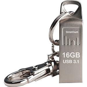 USB-stick, USB 3.1, 16 GB, Nitro Ammo STRONTIUM SR16GSLAMMOY