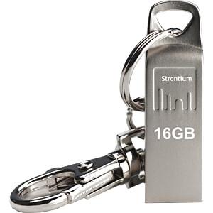 USB Stick, USB 2.0, 16 GB, Basic Ammo STRONTIUM SR16GSLAMMO