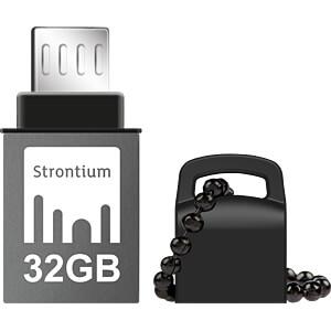 USB Stick, USB 3.0, 32 GB, Nitro OTG STRONTIUM SR32GBBOTG2Z