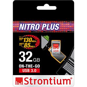 USB Stick, USB 3.0, 32 GB, NITRO PLUS OTG STRONTIUM SR32GSLOTG1Z