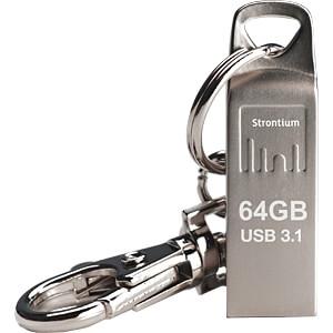 USB Stick, USB 3.1, 64 GB, Nitro Ammo STRONTIUM SR64GSLAMMOY