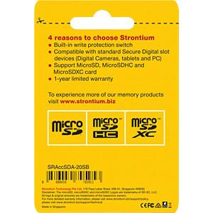 Card Reader, extern, microSD, SD STRONTIUM SRACCSDA-20SB