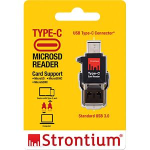 Card Reader, extern, USB 3.0, type C STRONTIUM SRACCTYC-3ACGB