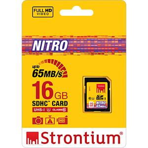 SDHC-Speicherkarte 16GB, Strontium Class 10 STRONTIUM SRN16GSDU1
