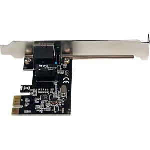 Netzwerkkarte, PCI Express x1,Gigabit Ethernet, 1x RJ45 STARTECH.COM ST1000SPEX2