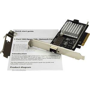 Netzwerkkarte, PCI Express x8, 10 Gigabit Ethernet, 1 x SFP STARTECH.COM PEX20000SFPI