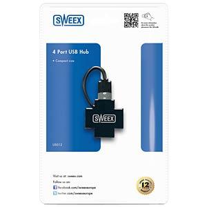 Sweex USB 2.0 4-Port Hub SWEEX US012