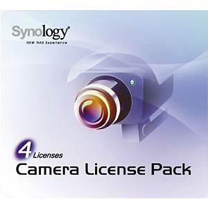 License Pack 4 Kamera SYNOLOGY