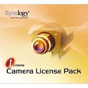 Synology License Pack 1 Kamera SYNOLOGY CAM-PACK-1