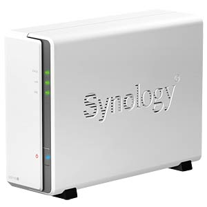 "Disk Station DS115j, 1x 6.4 cm (2.5"") or 8.9 cm (3.5"") SYNOLOGY DS115J"
