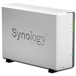 "Disk Station DS115j, 1x6,4cm(2,5"")o.8,9cm (3,5"") SYNOLOGY DS115J"