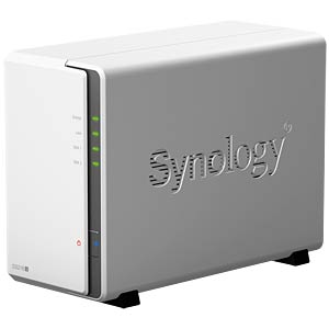 DiskStation DS216j including 2x 8 TB HDD = 16 TB SYNOLOGY