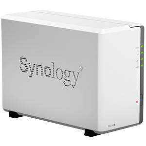 DiskStation DS216j -2x6,4cm (2,5)o.8,9cm (3,5) SYNOLOGY DS216J