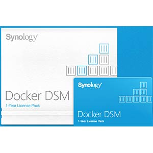 Docker DSM-Lizenzpaket SYNOLOGY DOCKER DSM 1 LICENSE