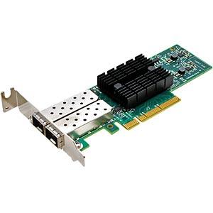 Netzwerkkarte, PCI Express, 10 Gigabit Ethernet, 2x SFP SYNOLOGY E10G17-F2