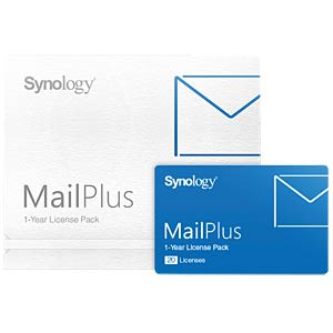MailPlus 20 Licenses (1 Jahr) SYNOLOGY MP20