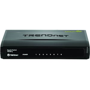Switch, 8-Port, Gigabit Ethernet TRENDNET TEG-S81G