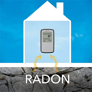 Radon-Monitor, digital AIRTHINGS 5401260