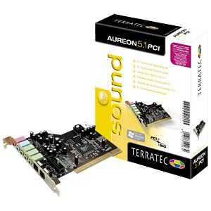 TerraTec Aureon 5.1, PCI retail TERRATEC 10063