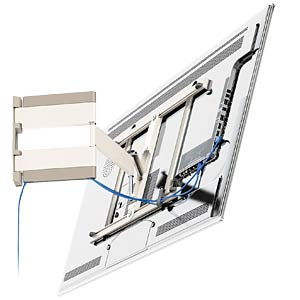 LED/LCD wall bracket, white VOGELS 73201724