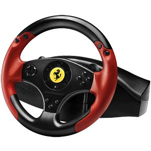 Steering wheel with pedals, ThrustMaster Red Legend THRUSTMASTER 4060052