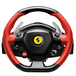 Steering wheel with pedals, ThrustMaster 458 Spider THRUSTMASTER 4460105