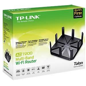 WLAN Multiband Gigabit Router, 7200 MBit/s TP-LINK AD7200